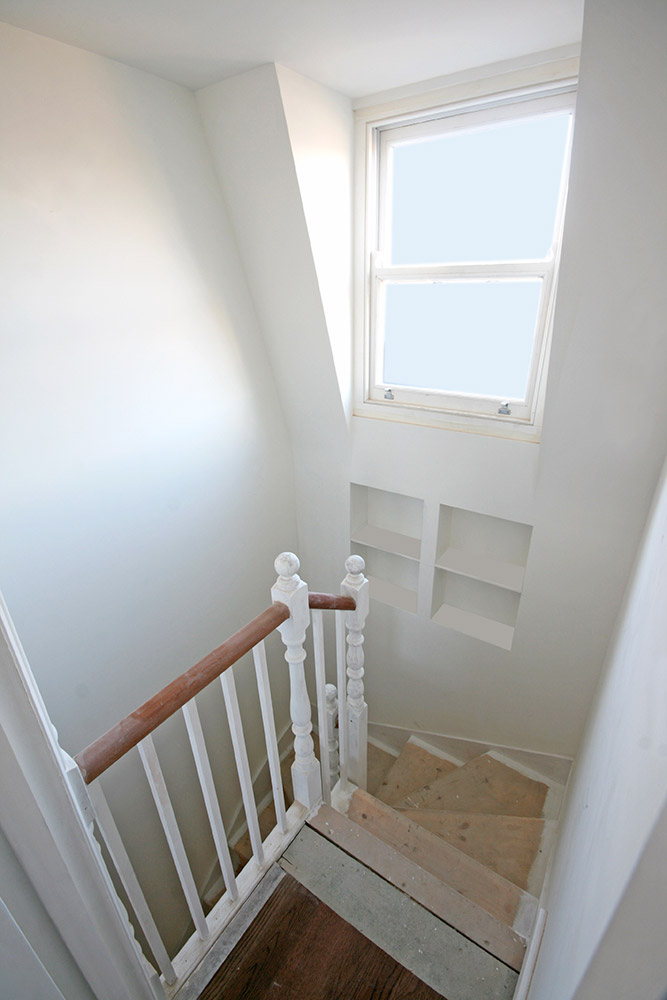 Staircase and Hallway