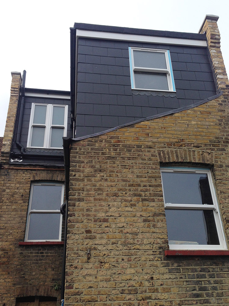 L Shaped Dormer South London Lofts