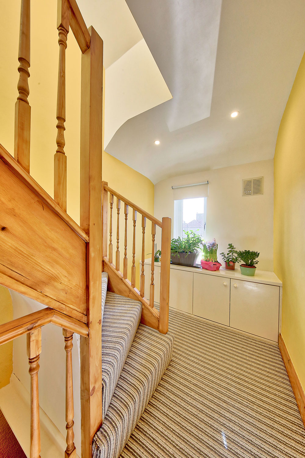 Interior image of loft conversion on Hawkes Road, Mitcham