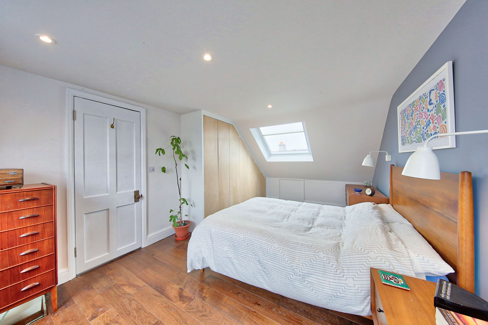 loft conversion Doverfield Road Brixton, bedroom