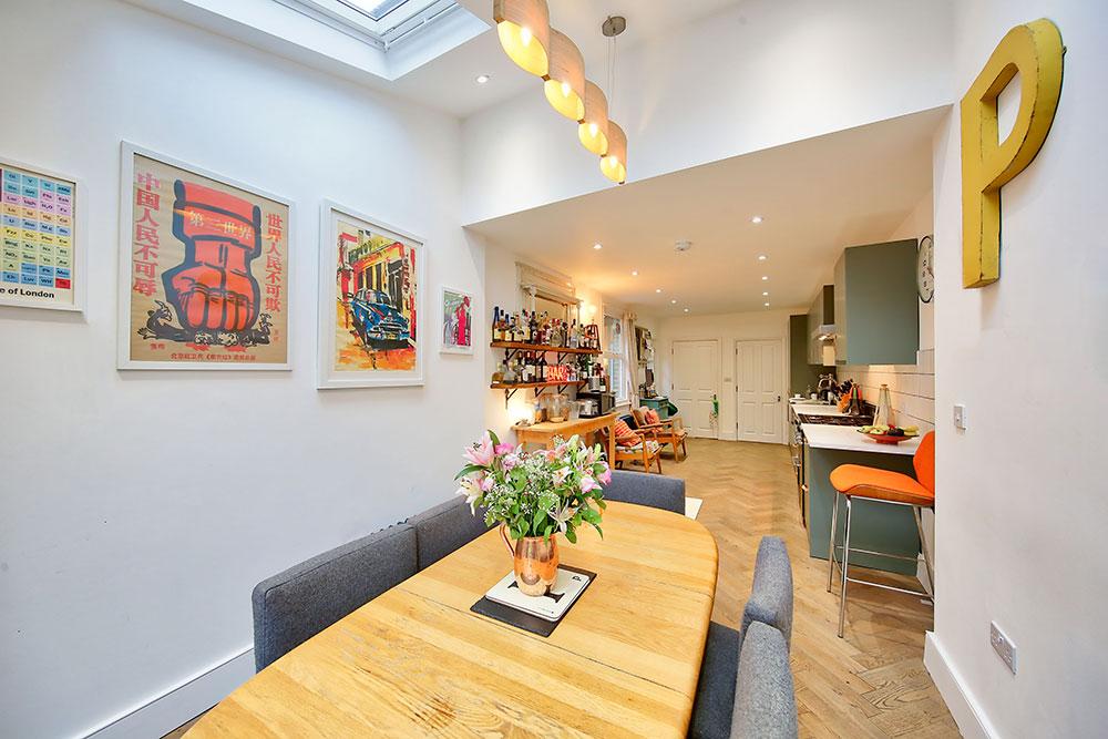 Gipsy Road SE27 Dining Room